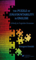 Okładka książki: The Puzzle of (Un)Countability in English. A Study in Cognitive Grammar