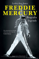Okładka: Freddie Mercury. Biografia legendy