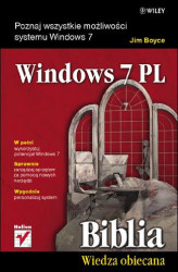 Okładka: Windows 7 PL. Biblia