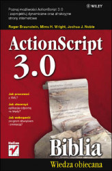Okładka: ActionScript 3.0. Biblia