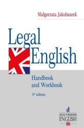 Okładka: Legal English. Handbook and Workbook
