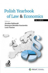Okładka książki: Polish Yearbook of Law and Economics. Vol. 4 (2014)