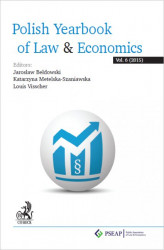 Okładka książki: Polish Yearbook of Law & Economics. Vol. 6 (2015)