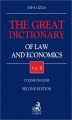 Okładka książki: The Great Dictionary of Law and Economics. Vol. II. Polish - English