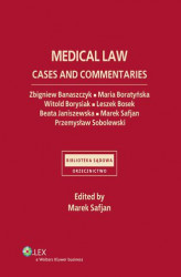 Okładka książki: Medical law. Cases and commentaries