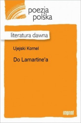 Okładka: Do Lamartine'a