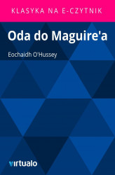 Okładka: Oda do Maguire'a