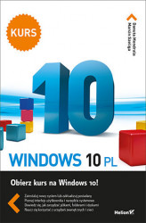 Okładka: Windows 10 PL. Kurs