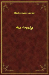 Okładka: Do Pryska
