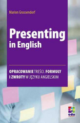 Okładka: Presenting in English