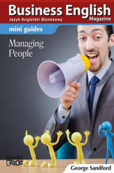 Okładka: Mini guides: Managing people