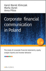 Okładka: CORPORATE FINANCIAL COMMUNICATION IN POLAND