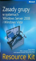 Okładka książki: Zasady grupy w systemach Windows Server 2008 i Windows Vista Resource Kit