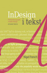 Okładka: InDesign i tekst