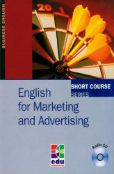 Okładka książki: English for Marketing and Advertising