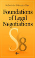 Okładka książki: Foundations of Legal Negotiations. Studies in the Philosophy of Law vol. 8