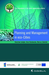 Okładka książki: Planning and Management in Eco-cities