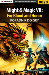 Okładka książki: Might  Magic VII: For Blood and Honor - poradnik do gry