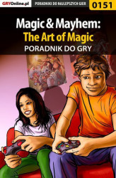 Okładka książki: Magic  Mayhem: The Art of Magic - poradnik do gry