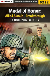 Okładka książki: Medal of Honor: Allied Assault - Breakthrough - poradnik do gry