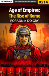 Okładka: Age of Empires: The Rise of Rome - poradnik do gry