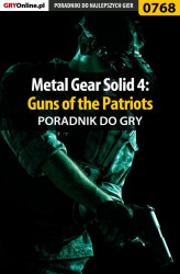 Okładka: Metal Gear Solid 4: Guns of the Patriots - poradnik do gry