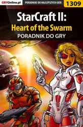 Okładka: StarCraft II: Heart of the Swarm - poradnik do gry