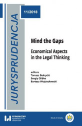 Okładka książki: Jurysprudencja 11. Mind the Gaps. Economical Aspects in the Legal Thinking