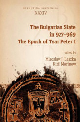 Okładka: The Bulgarian State in 927–969. The Epoch of Tsar Peter I