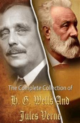 Okładka: The Complete Collection of Jules Verne and H. G. Wells