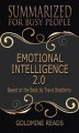 Okładka książki: Emotional Intelligence 2.0 - Summarized for Busy People