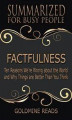 Okładka książki: Factfulness - Summarized for Busy PeopleFactfulness - Summarized for Busy People