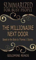 Okładka książki: The Millionaire Next Door  - Summarized for Busy People