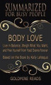 Okładka książki: Body Love - Summarized for Busy People