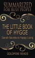 Okładka książki: The Little Book of Hygge - Summarized for Busy People