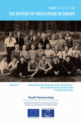 Okładka: The history of youth work in Europe - volume 6